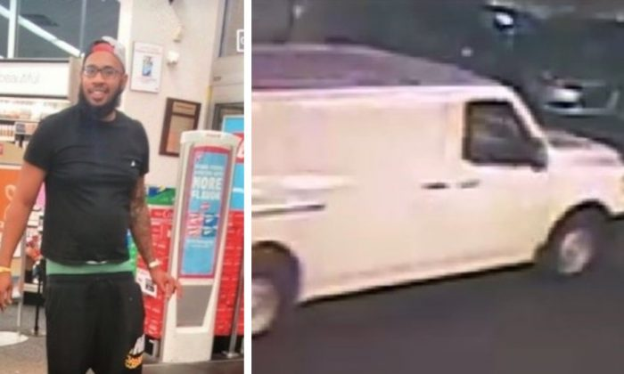 Suspect in attempted kidnapping at a Smyrna Walgreens on July 27 and the vehicle into which the suspect allegedly tried to lure two female victims. (Smyrna Police Department)