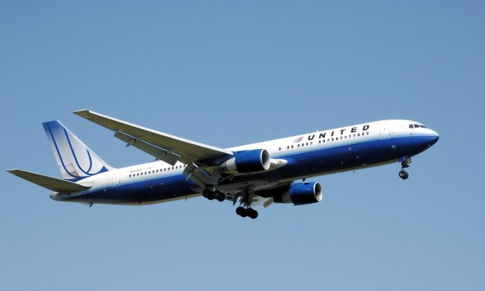 Stock image of a United Airlines plane. (Skeeze/Pixabay)