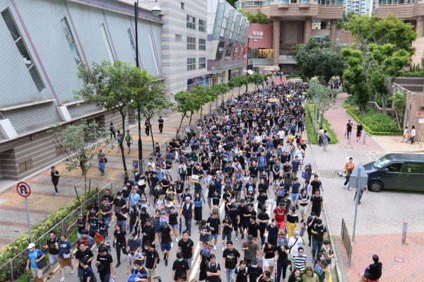 Mong Kok, Hong Kong, protest