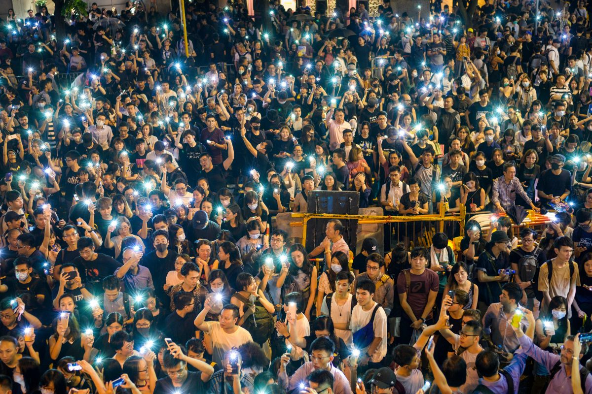 HONG KONG-CHINA-Protest