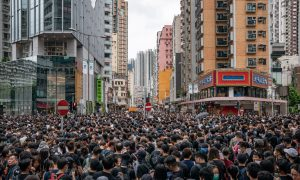 Mainland Chinese Detained by Police for Supporting Hong Kong Protests