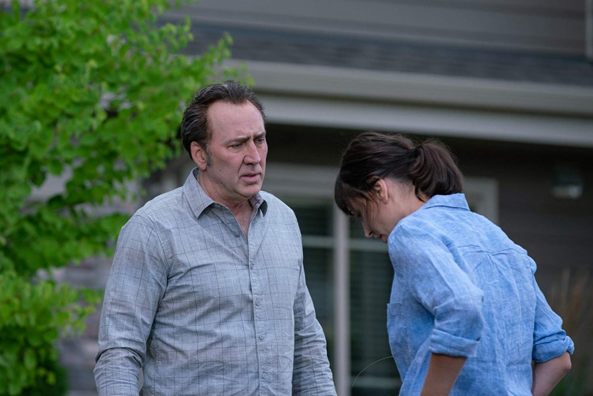 Nicolas Cage and Karolina Wydra in A Score to Settle