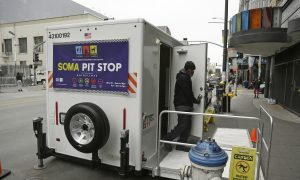 San Francisco Curbs Human Waste With Public Toilets, Security Staff