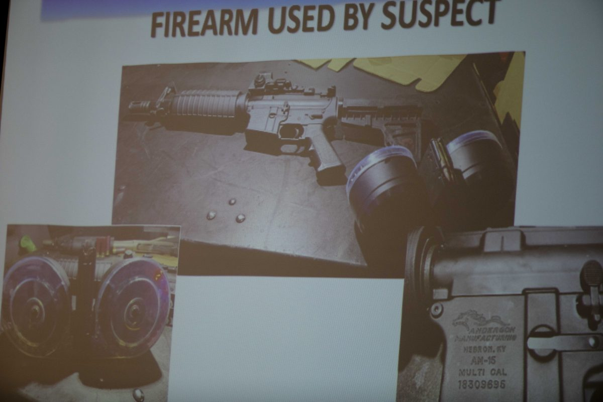 The firearm used by the shooter Connor Betts