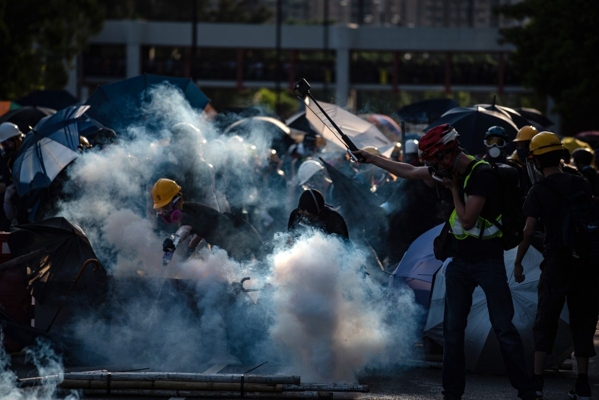 HONG KONG-CHINA-Protest