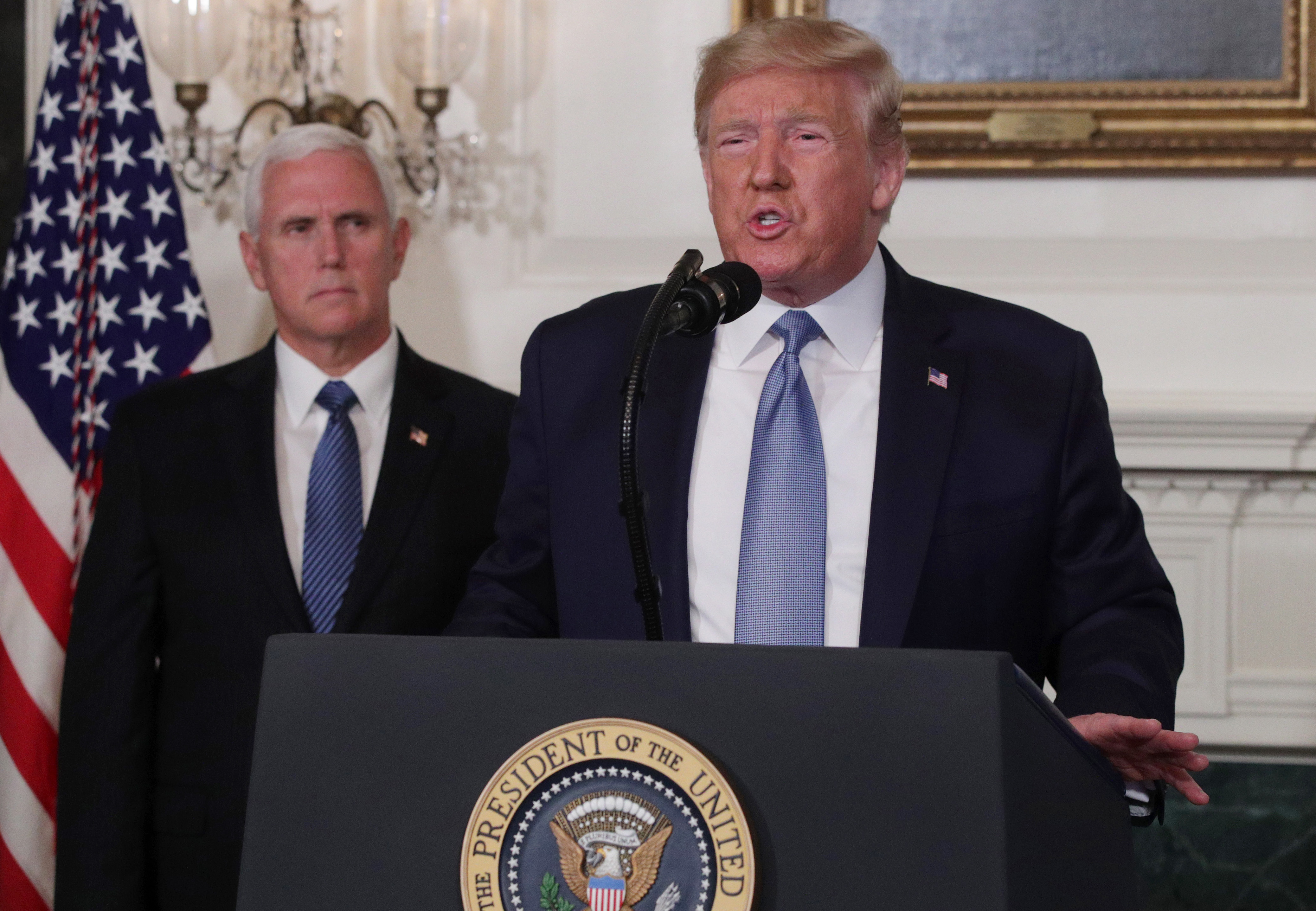 Trump Says He Will Cooperate With Impeachment Inquiry 'If the Rules Are Fair'