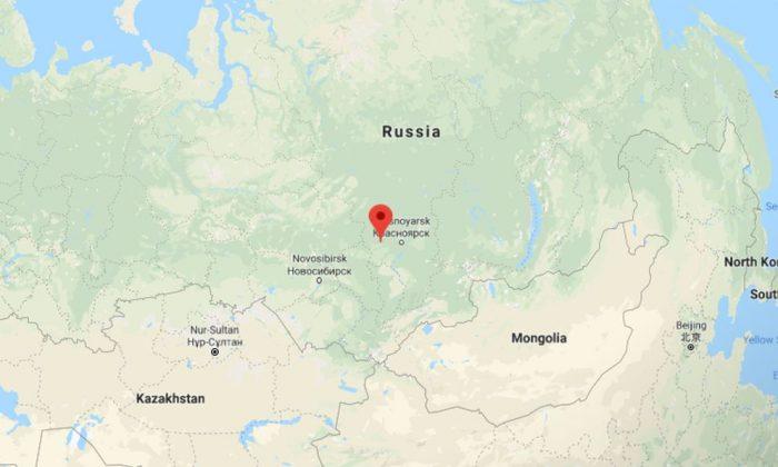 Achinsk, Russia (Google Maps)