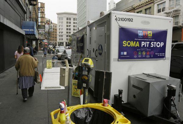 """""""Pit Stop"""" public toilet"""
