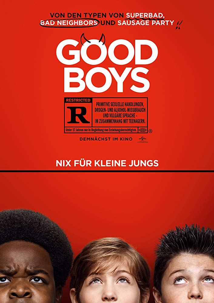 "poster for ""Good Boys"""