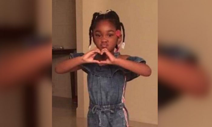 Nevaeh Lashy Adams, 5, went missing in Sumter, South Carolina as her mother was found dead. (Sumter Police Department)