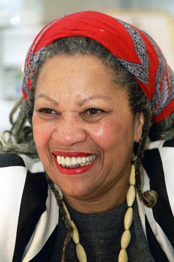 Nobel prize winner Toni Morrison at Princeton University in Princeton