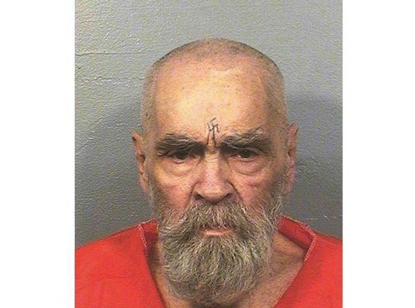 Old Charles Manson mugshot