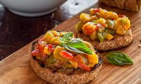 La Bruschetta ai Peperoni Arrostiti (Roasted Pepper Bruschetta)