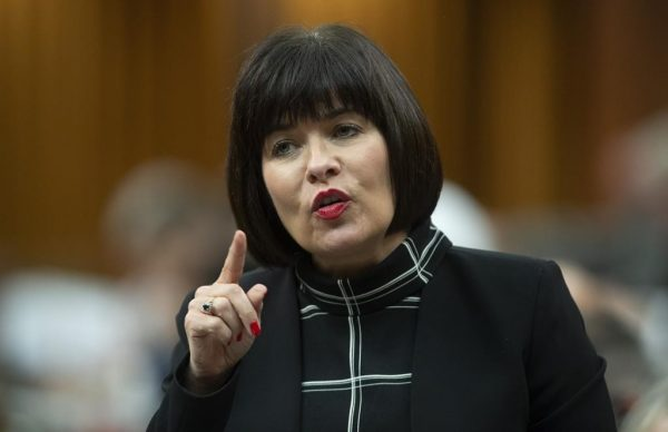 Health Minister Ginette Petitpas Taylor responds to a question during Question Period in the House of Commons, June 17, 2019 in Ottawa. (Adrian Wyld/The Canadian Press)