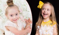 Beautiful Girl With Down Syndrome Bagged Two Modeling Contracts With Her 'Cheeky Smile'