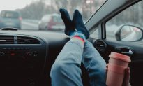 The Alarming Reason Why You Should Never Put Your Feet on the Dashboard of a Car
