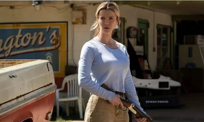 "Betty Gilpin stars in ""The Hunt,"" which is slated to hit theaters in September. (Universal Pictures)"