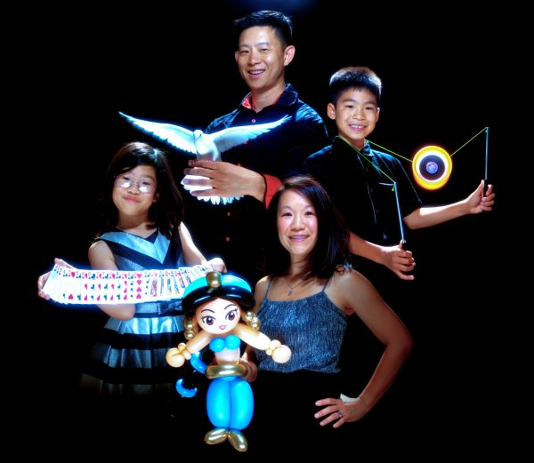 The Chan family