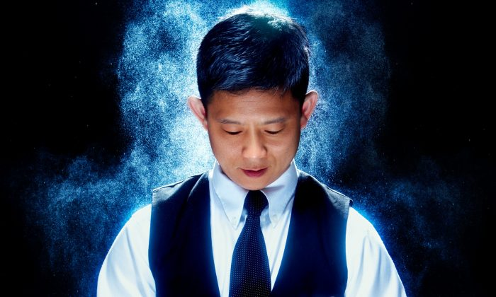 Daniel Chan is a professional magician who performs with his family. (Alexis Cuarezma)