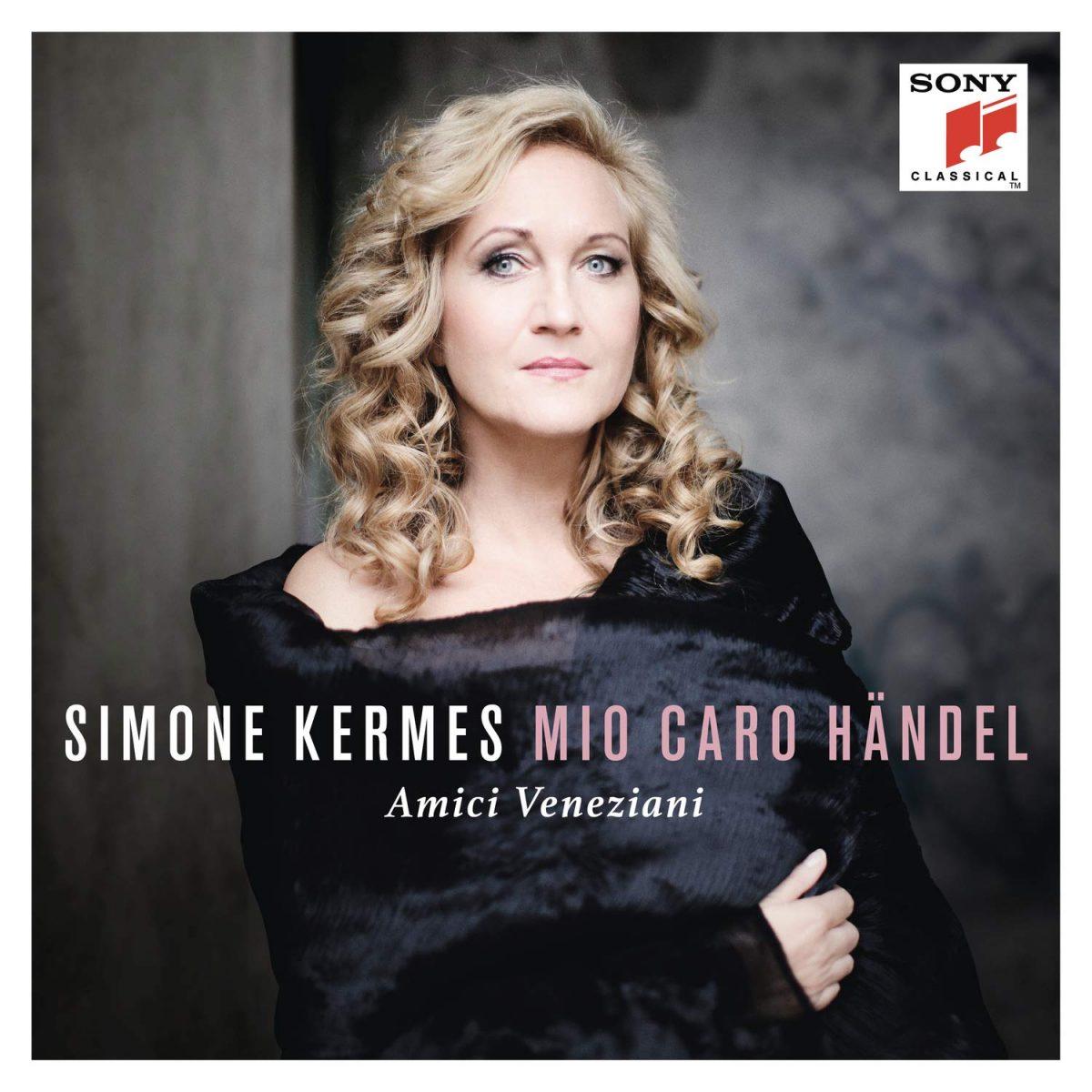 The cover of Mio Caro Handel by Simone Kermes
