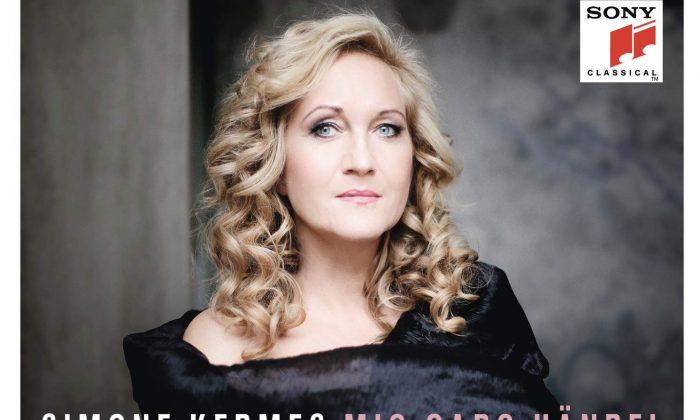 """Simone Kermes's new album """"Mio Caro Handel."""" (Sony Classical)"""