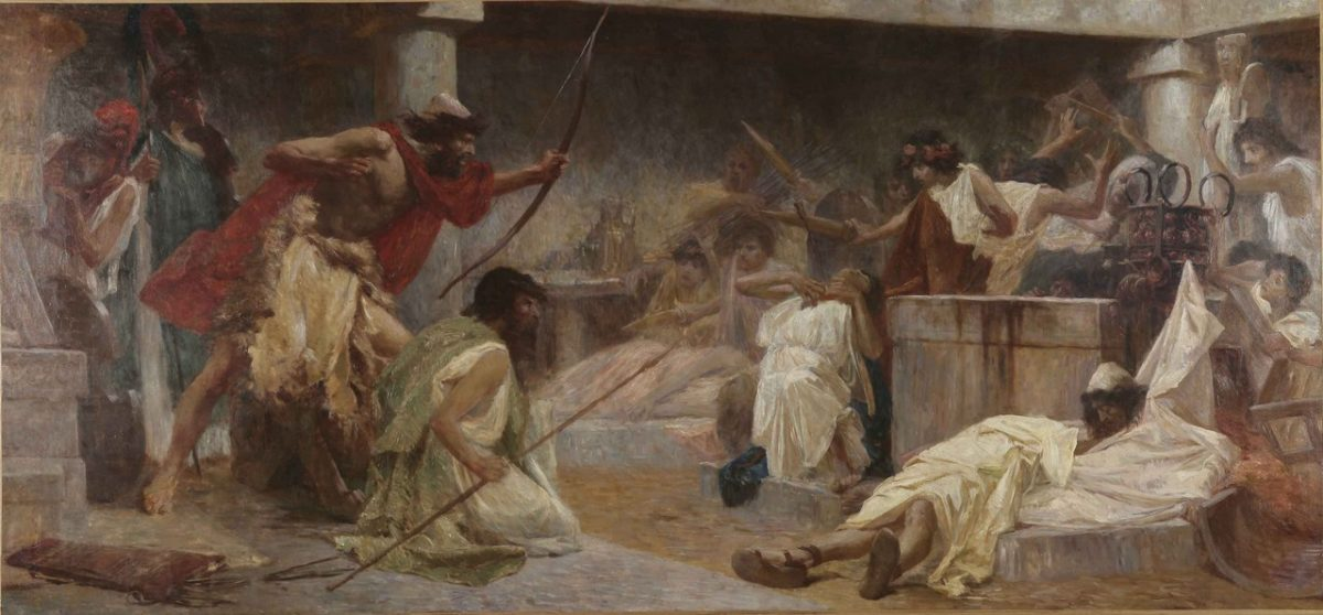Odysseus Kills the Suitors