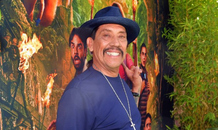 "Danny Trejo attends the LA Premiere of Paramount Pictures' ""Dora And The Lost City Of Gold"" in Los Angeles, California, on July 28, 2019. (Emma McIntyre/File Photo via Getty Images)"