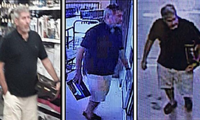 "A man approached a clerk at a Florida Walmart on Aug. 7, 2019, inquiring about a weapon that would ""kill 200 people""  (Port St. Lucie Police Department)"
