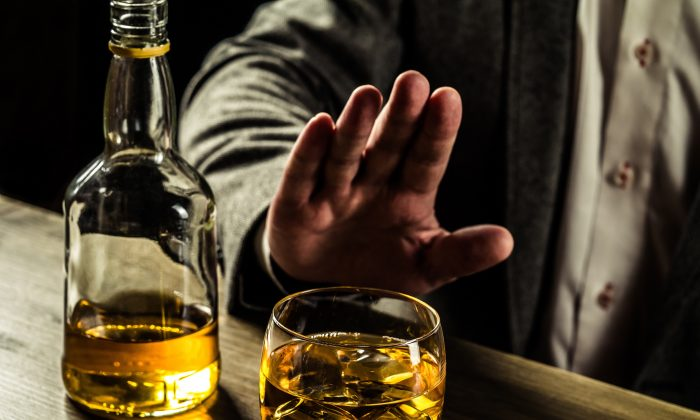 Type 2 diabetes increases your risk of heart disease, but drinking just a bit less alcohol can dramatically reduce that increased risk. (Alexey Lysenko/Shutterstock)