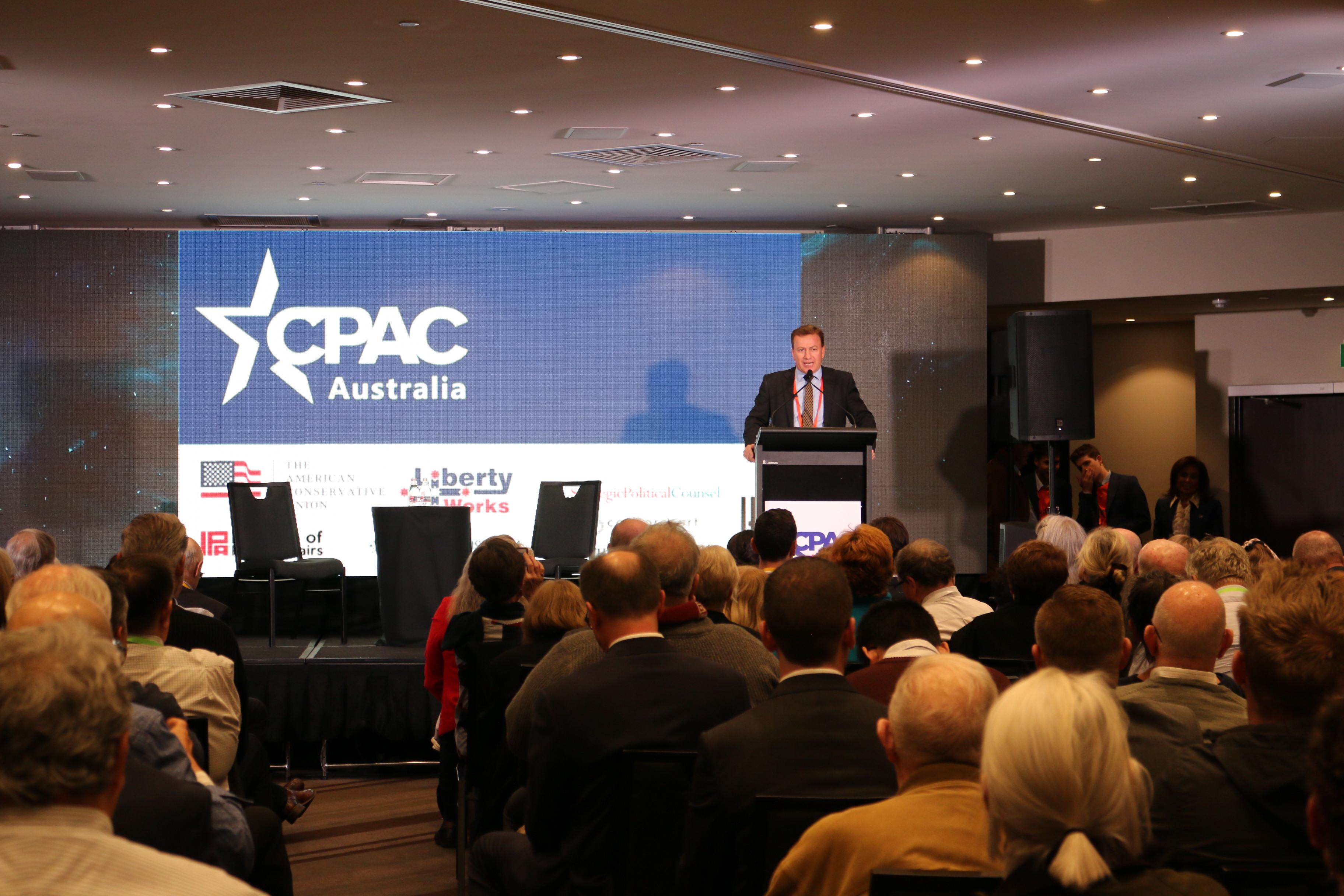 CPAC Australia Andrew Cooper