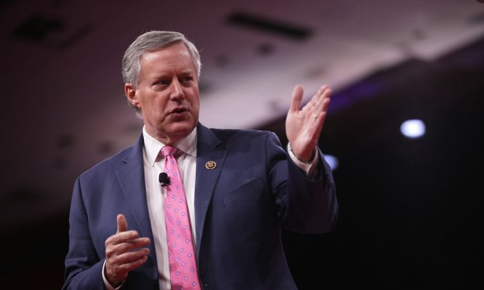 U.S. Rep. Mark Meadows (R-NC) speaks during CPAC 2019 February 28, 2019 in National Harbor, Maryland. (Alex Wong/Getty Images)