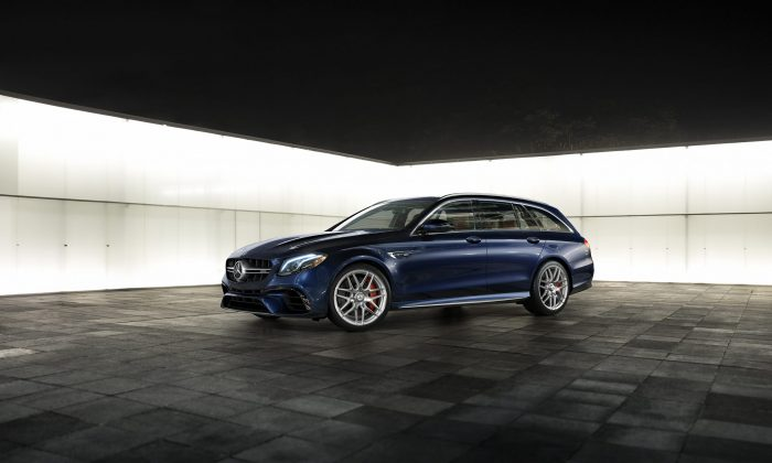 2019 Mercedes-Benz AMG E 63 S 4Matic+ Wagon. (Courtesy of Mercedes-Benz)