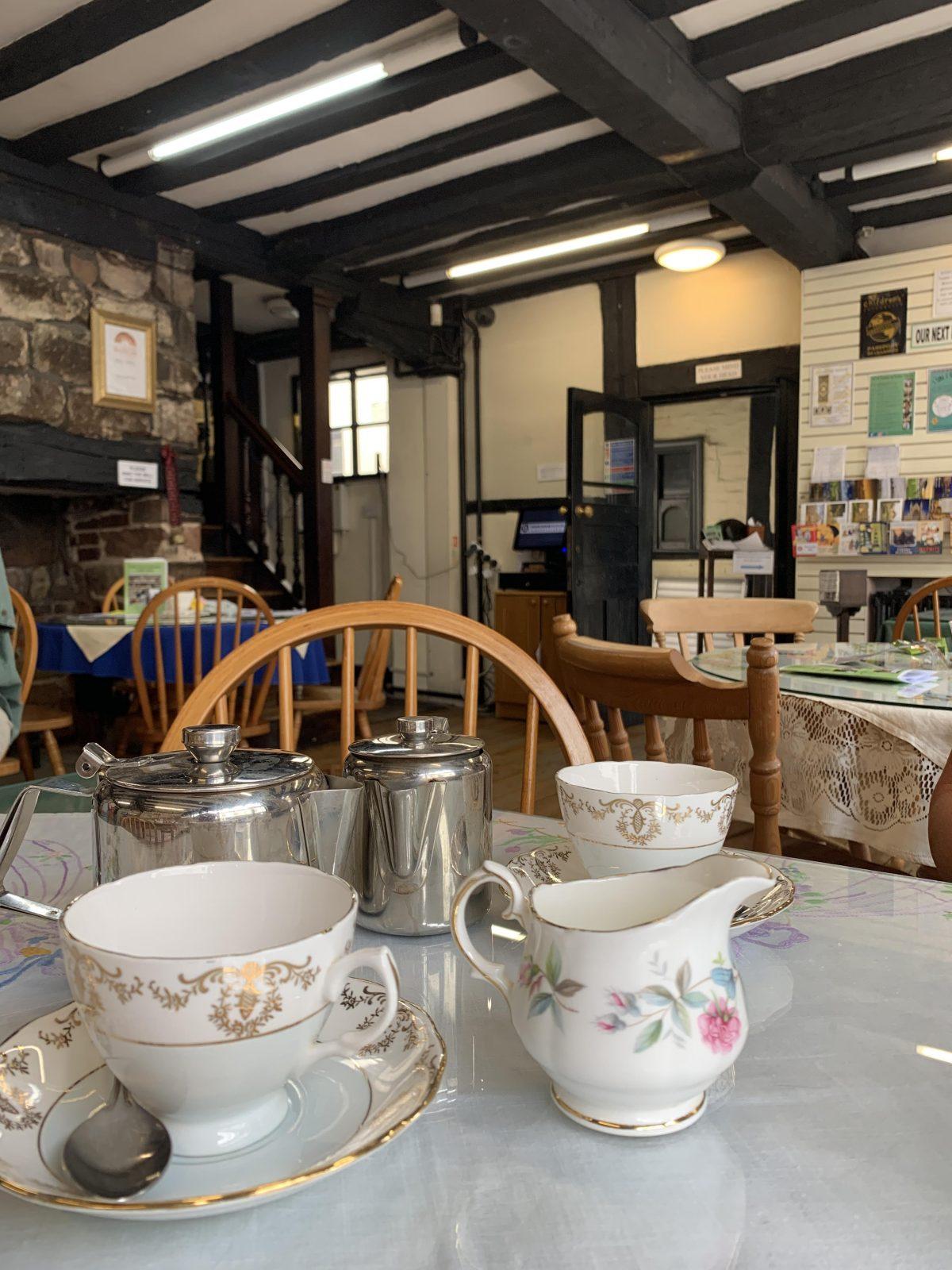 Tea at Tudor House