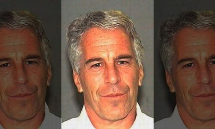 Jeffrey Epstein in a booking photograph in Palm Beach, Fla., on July 27, 2006. (Palm Beach Sheriff's Office)