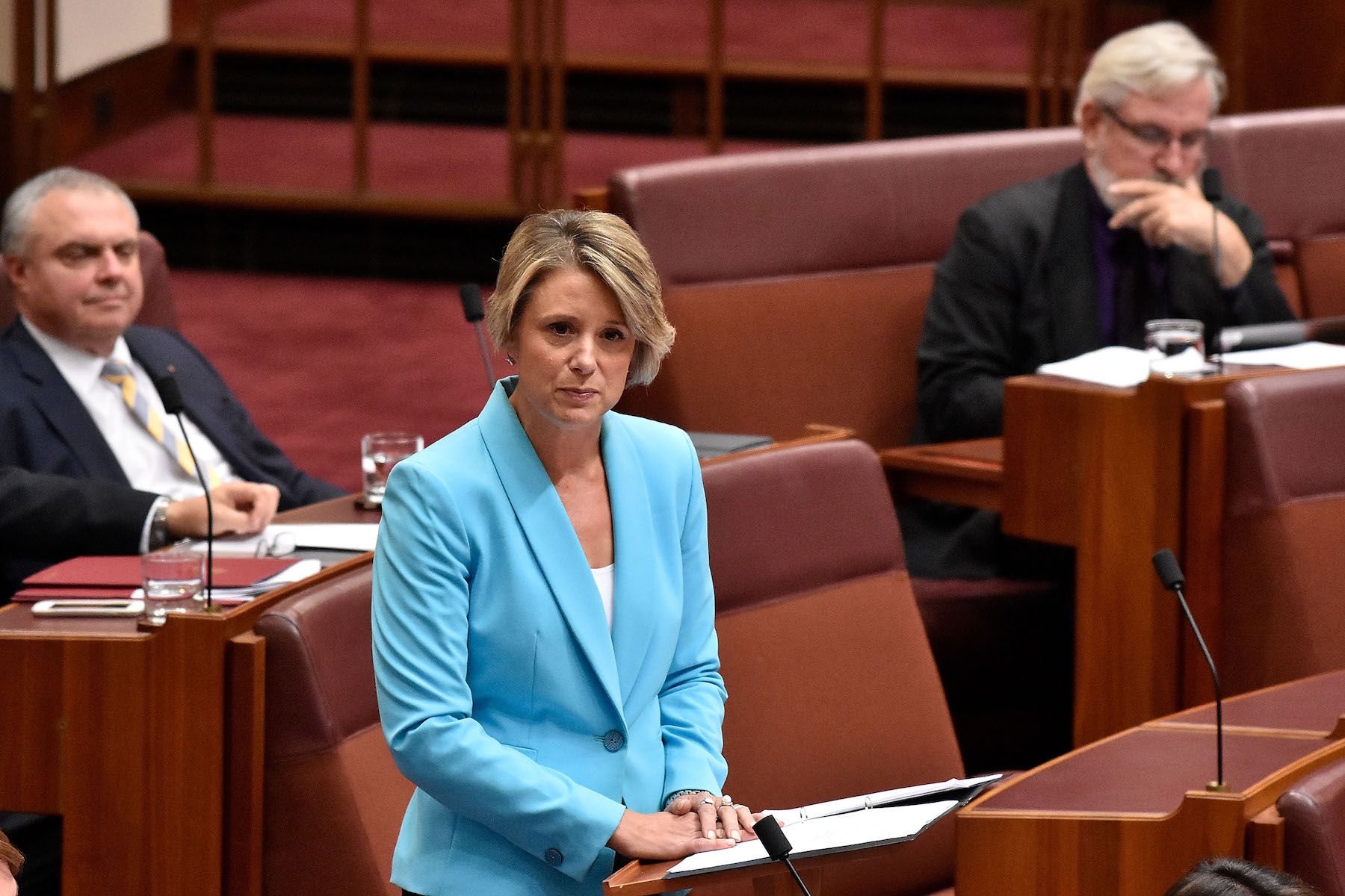 Kristina Keneally Delivers Maiden Senate Speech