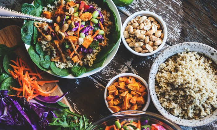 Foods high in magnesium include leafy greens, legumes, seeds, squash, nuts, and whole grains. (Megan Betteridge/Shutterstock)