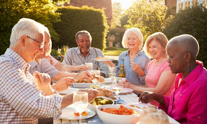 Making time to connect with friends and family does more than make you feel good, it could keep you healthier in your elder years. (Monkey Business Images/Shutterstock)