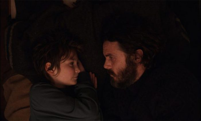 """Anna Pniowsky and Casey Affleck play daughter and father, in """"Light of My Life."""" (Saban Films)"""