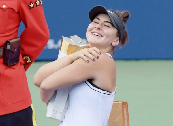 Bianca Andreescu Rogers Cup winner