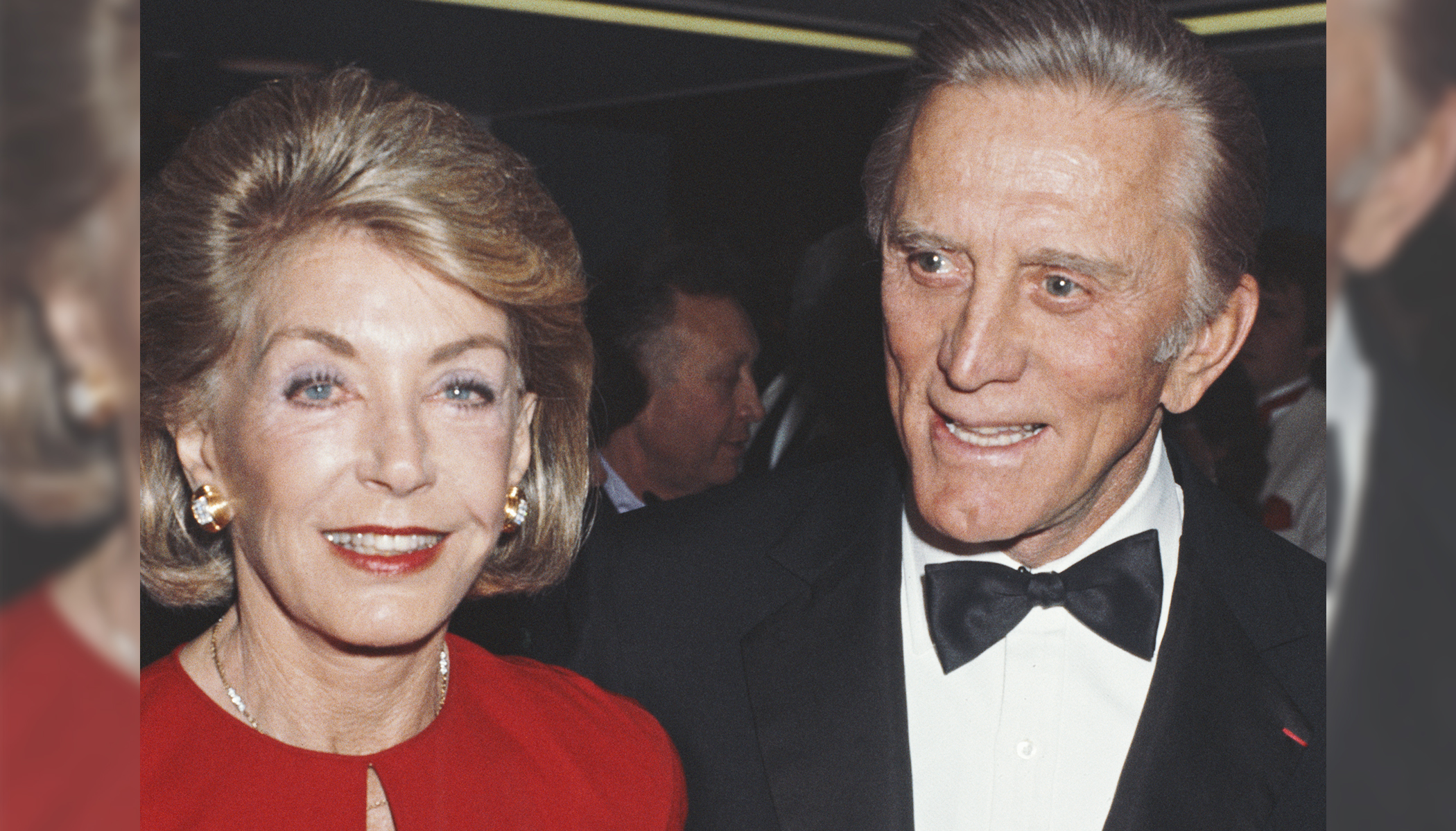 Kirk Douglas, 102, and Anne Buydens, 100, Still in Love After 65 Years of Marriage