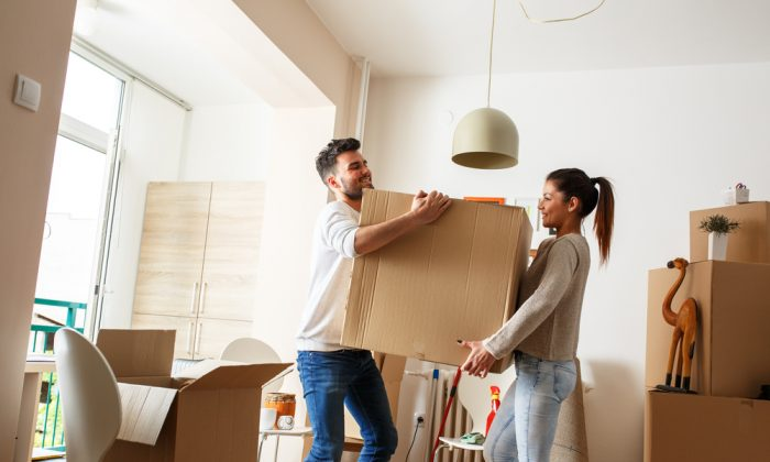The average American moves 11.7 times over the course of a lifetime. By contrast, Europeans move an average of four times.  (Shutterstock)