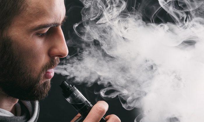 A stock photo of vaping (Illustration - Shutterstock)