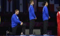 American Athlete Punished for Kneeling During National Anthem, Other US Athletes Warned