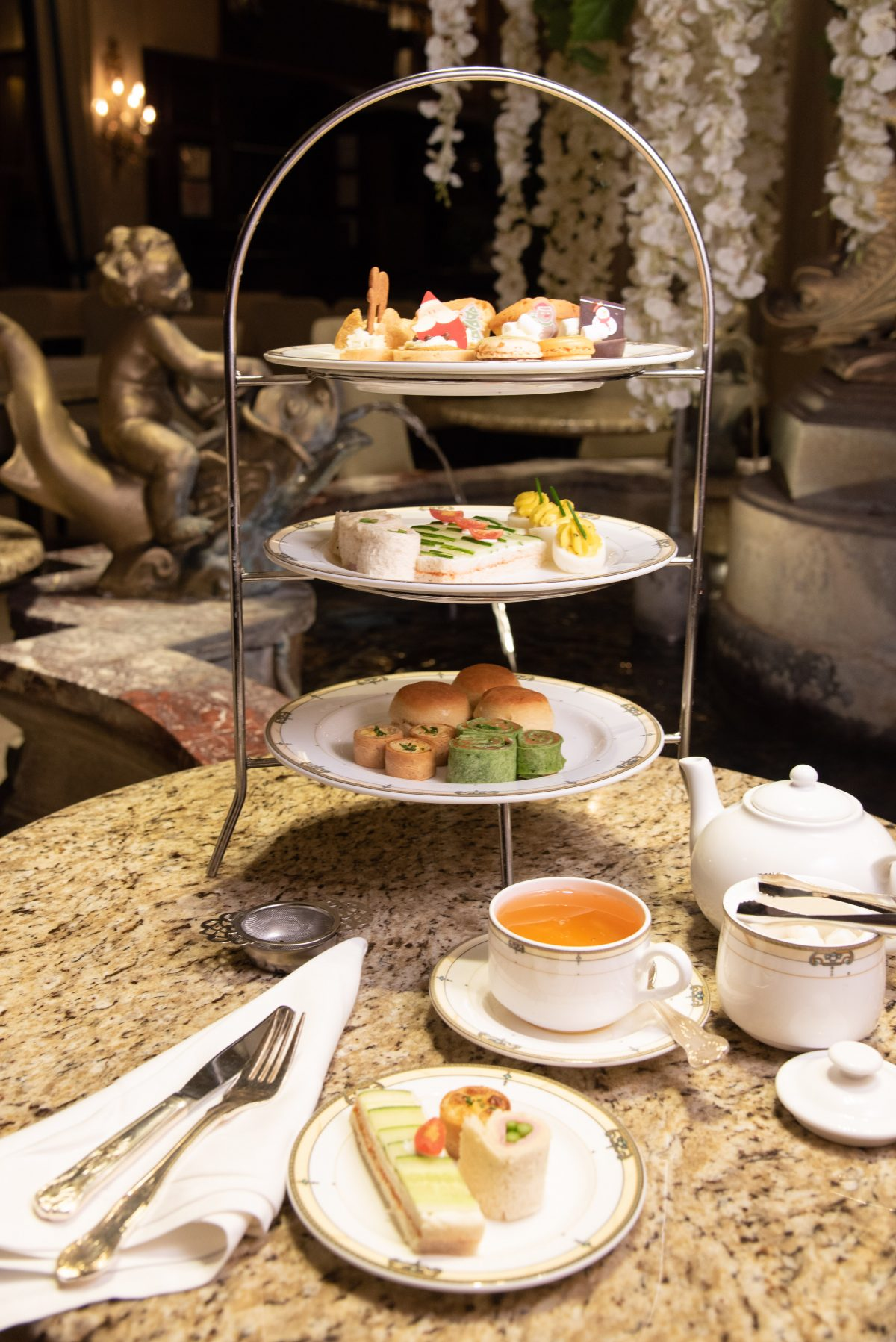Afternoon tea at The Drake in Chicago