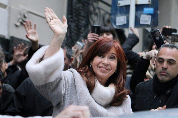 ormer president Cristina Fernandez de Kirchner