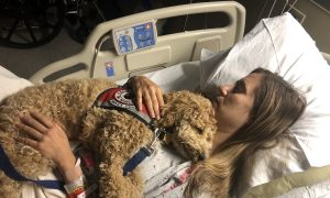 Canines and Community: A Woman With a Rare Disease and Her Dog Give Back