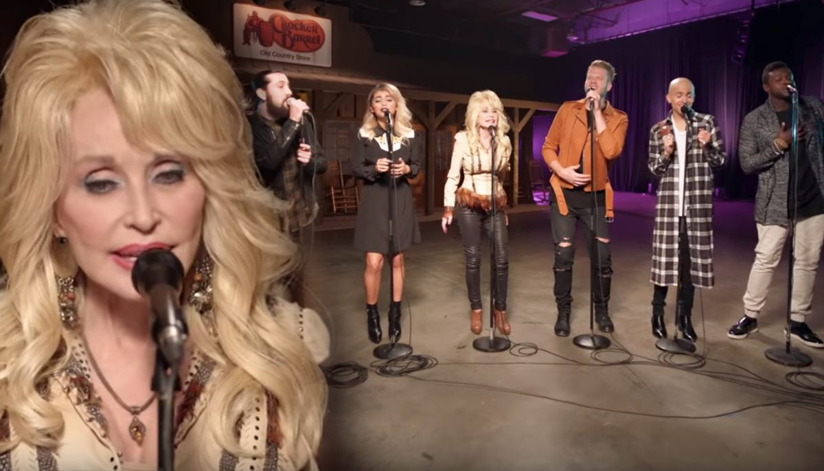 Dolly Parton Meets Pentatonix: 6 Voices, 1 Stunning A