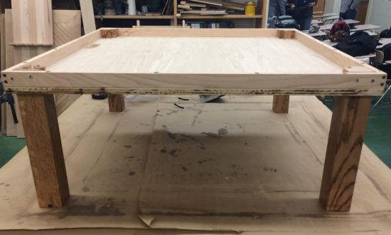 15-Year-Old Builds Infinity Table for Project, It's Become an Instant Hit Among DIYers