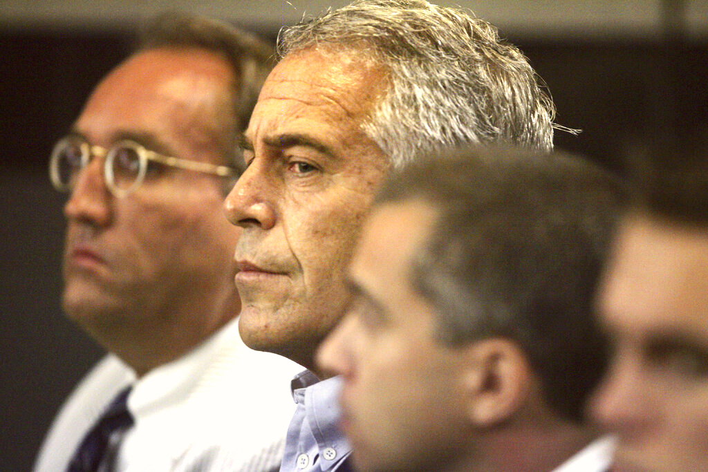 Epstein in court