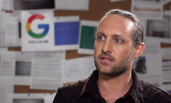Former Google software engineer Zach Vorhies. (Courtesy of Project Veritas)